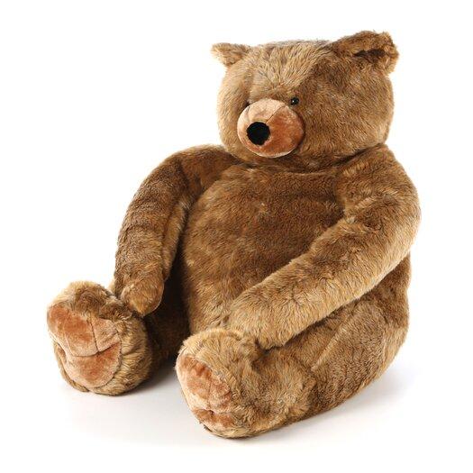 Melissa and Doug Jumbo Brown Teddy Bear Plush Stuffed Animal