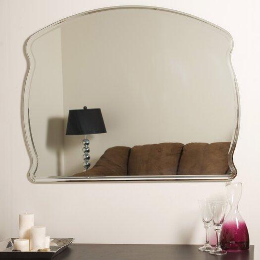 Decor Wonderland Frameless Diane Wall Mirror
