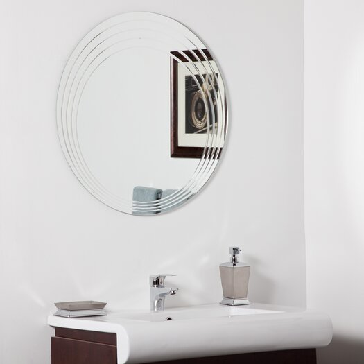 Decor Wonderland Bryn Modern Bathroom Mirror