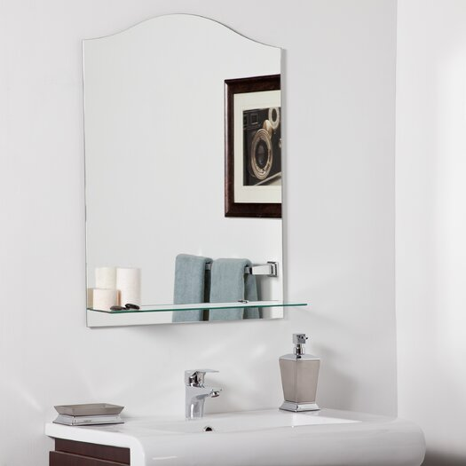 Decor Wonderland Abigail Modern Bathroom Mirror