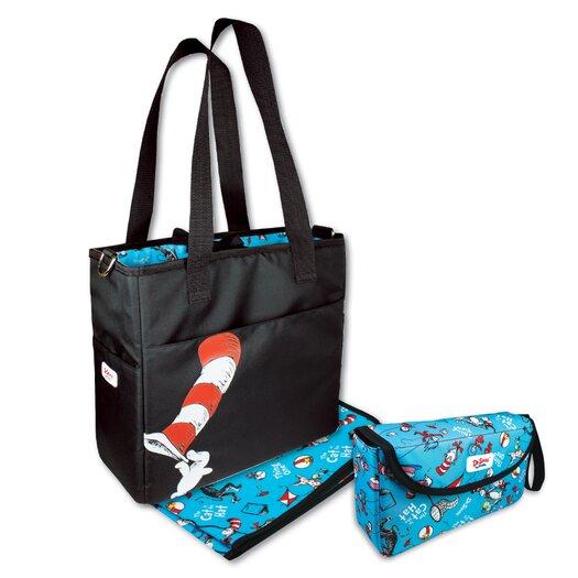 Bumkins Grande Diaper Bag and Clutch Set