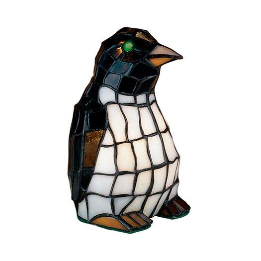 """Meyda Tiffany Tiffany Penguin 8"""" H Table Lamp"""