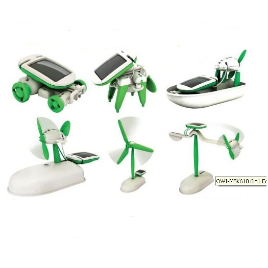 OWI Robots 6 in 1 Educational Solar Kit