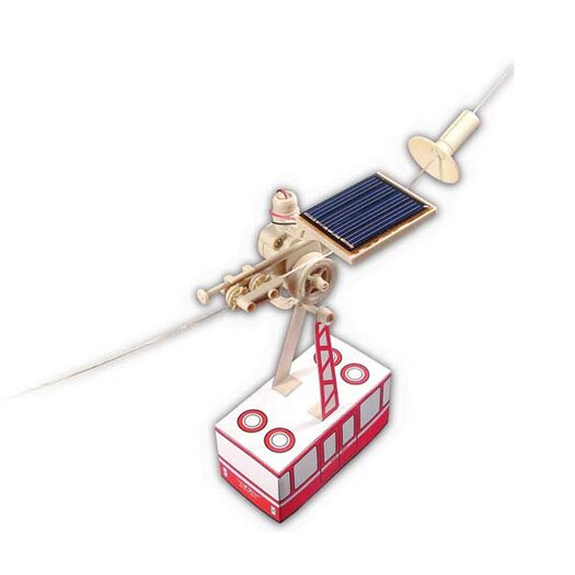 OWI Robots Solar Aerial Cable Car Kit
