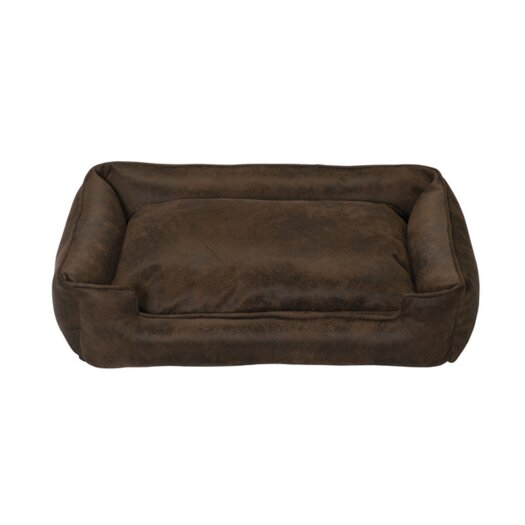 Jax & Bones Faux Leather Dog Pillow