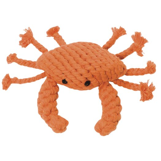 Jax & Bones Kramer the Crab Rope Dog Toy