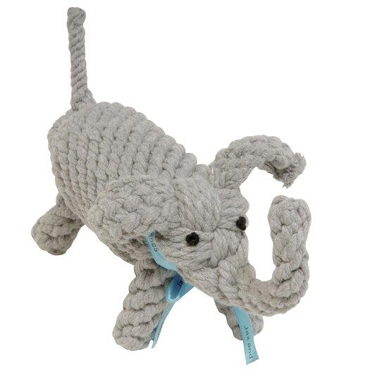 Jax & Bones Coco the Elephant Rope Dog Toy