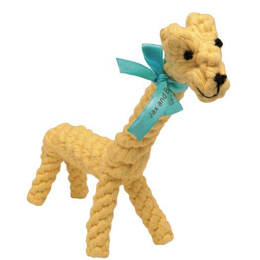 Jax & Bones Jerry the Giraffe Rope Dog Toy