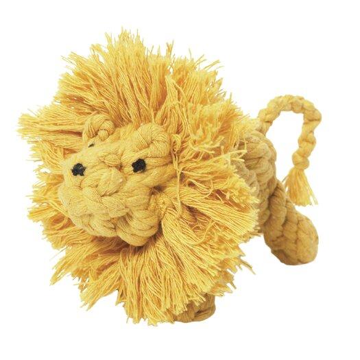 Jax & Bones Larry the Lion Rope Dog Toy