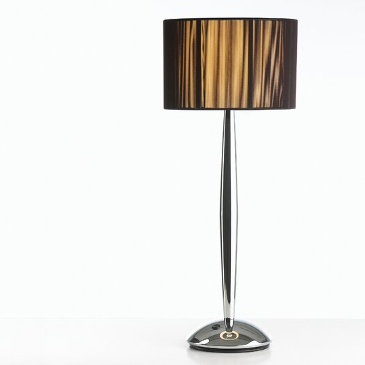 "B.Lux Hil 29"" H Table Lamp with Oval Shade"