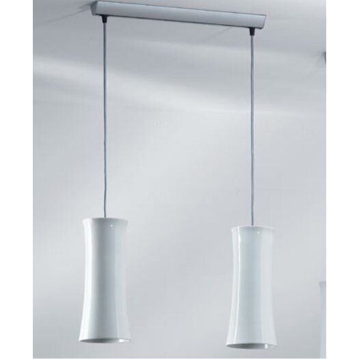 B.Lux Teide 2 Light Pendant Light