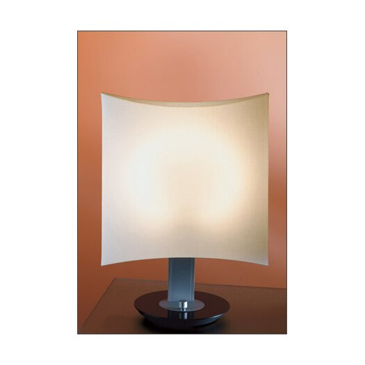 "B.Lux Dolcetta 21.3"" H Table Lamp with Retangular Shade"