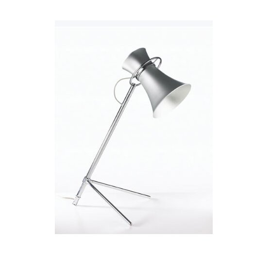 "B.Lux RCA 22"" H Table Lamp with Bell Shade"