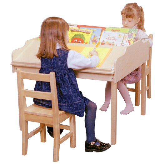 Steffy Wood Products Sloped Reading and Activity Table