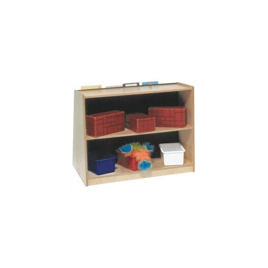 "Steffy Wood Products 28"" Book Display and Storage Unit"