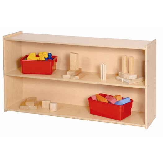 Steffy Wood Products Two Shelf Storage