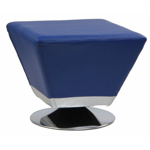 International Design USA Cube Swivel Ottoman