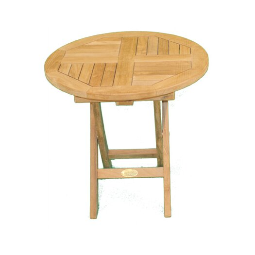 Jewels of Java Round Folding Side Table