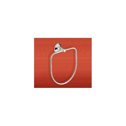 Gedy by Nameeks Ascot Towel Ring in Chrome