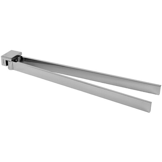 "Gedy by Nameeks Lounge 14.8"" Wall Mounted Swivel Towel Bar"