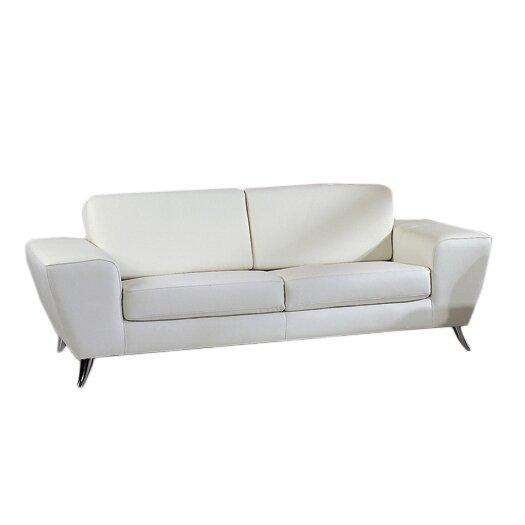 Beverly Hills Furniture Julie Leather Sofa