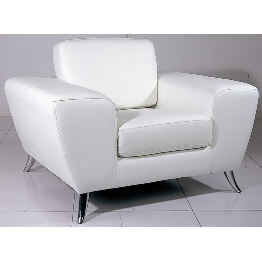 Beverly Hills Furniture Julie Leather Chair