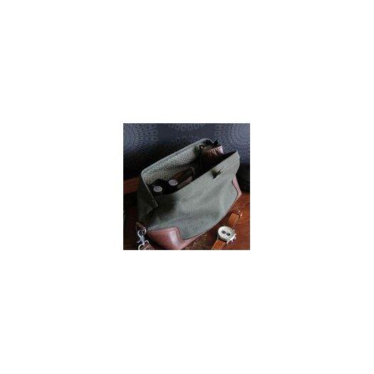 Amy Butler Parson Gray Sidecar Dopp Kit