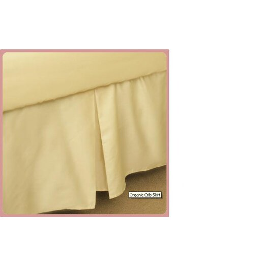 Natura Certified Luxury Organic Crib Skirt