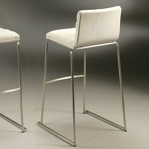 """Pastel Furniture Dominica 26"""" Bar Stool with Cushion"""