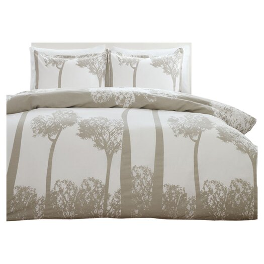 City Scene Tree Top Duvet Cover Set