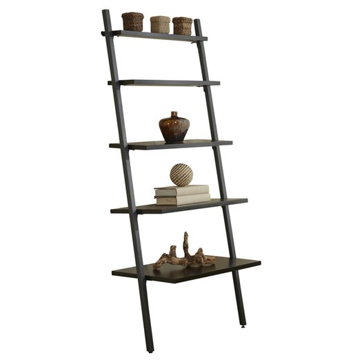 Jesper Office Parson Five Tier Ladder Bookcase