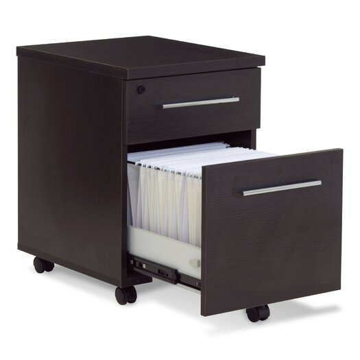 Jesper Office 500 Series 2-Drawer File Cabinet