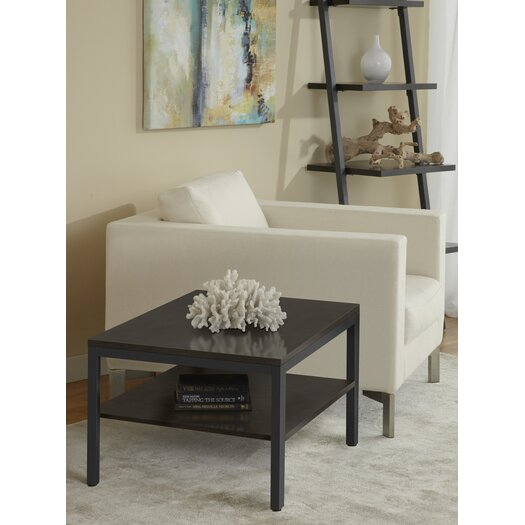 Jesper Office Square Corner Table with Shelf