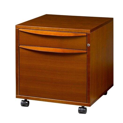Jesper Office 2-Drawer Filing Cabinet in Wood