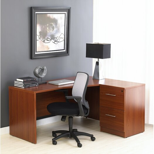 Jesper Office Pro X - L-Shaped Corner Executive Desk
