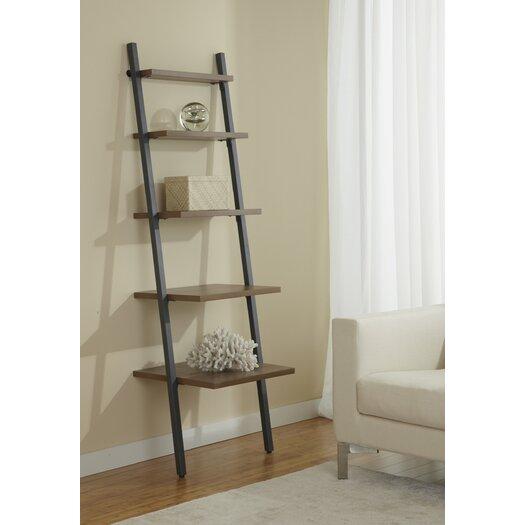 Jesper Office Five Tier Ladder Bookcase