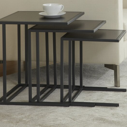 Jesper Office Jesper Office P1818N3 Parson Set of Three Nesting Tables