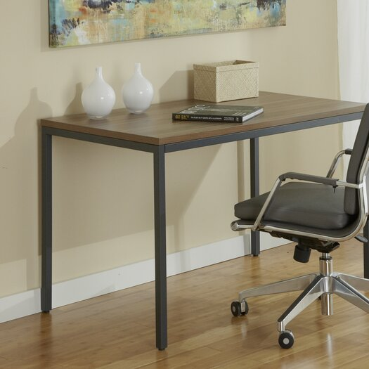 Jesper Office Parson Writing Desk with Steel Frame