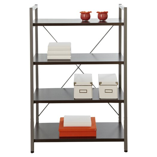 "Jesper Office Tribeca 48"" H Bookcase with Four Shelves"