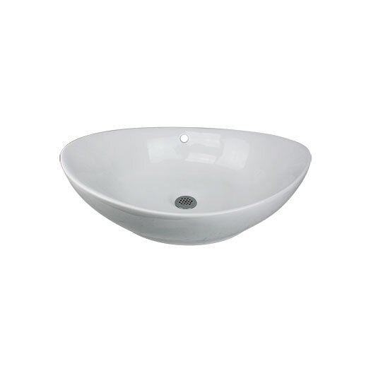 "Nantucket Sinks 23"" Vessel Bathroom Sink"