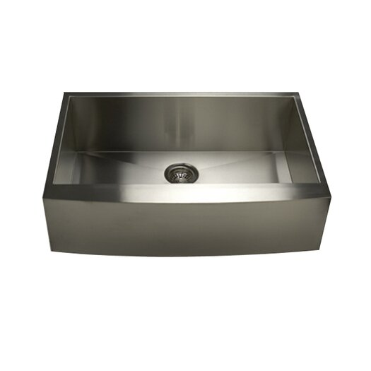 "Nantucket Sinks 33"" x 21"" x 10"" Kitchen Sink"
