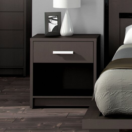 Stellar Home Furniture Cosmopolis 1 Drawer Nightstand