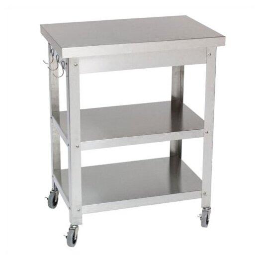 Danver Stainless Steel Kitchen Cart