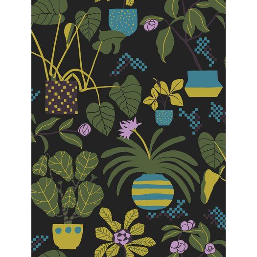 Marimekko Volume 4 Ikkunaprinssi Botanical Wallpaper