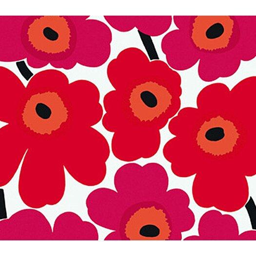 Unikko Floral Botanical Wallpaper Sample