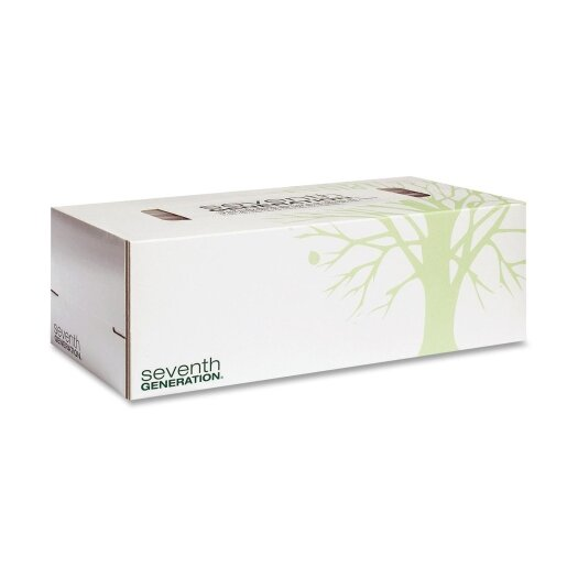 Seventh Generation Facial 2-Ply Tissues - 175 Tissues per Box