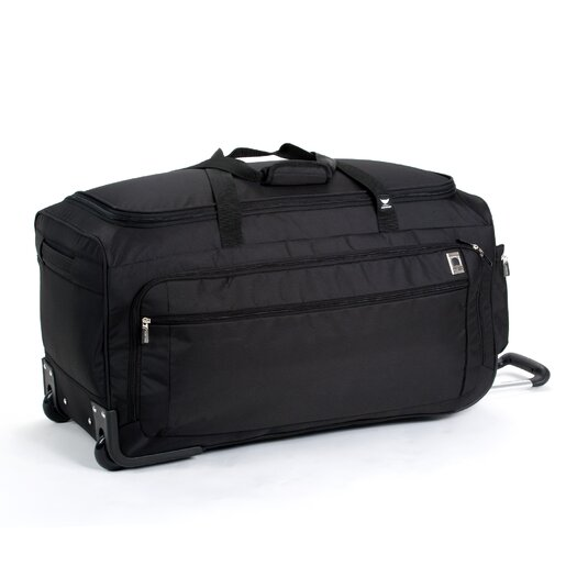 "Delsey Helium Sky 28"" 2 Wheeled Travel Duffel"