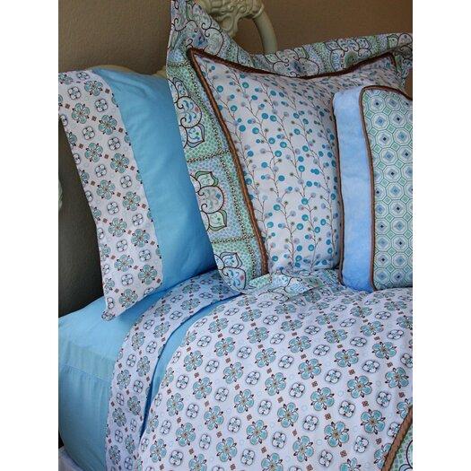 Caden Lane Modern Vintage Blue Duvet