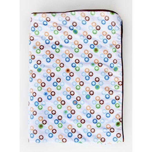 Caden Lane Boutique Star Dot Piped Blanket