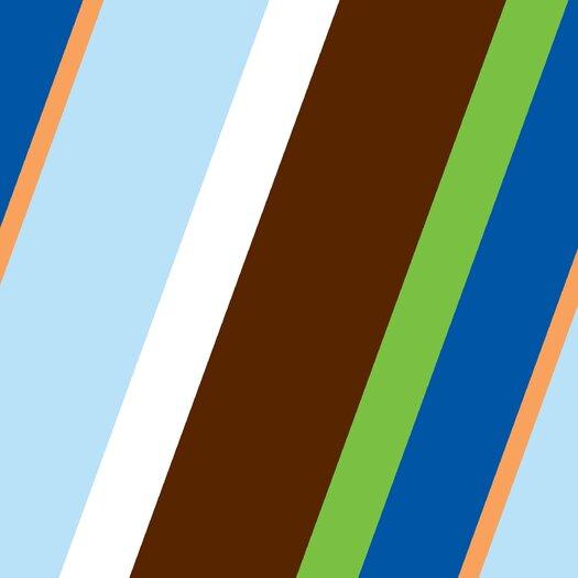 Caden Lane Boutique Diagonal Stripe Changing Pad Cover